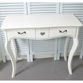 Dressing Table with 2 Drawers Shabby Chic Bedroom Furniture My Sweet Valentine