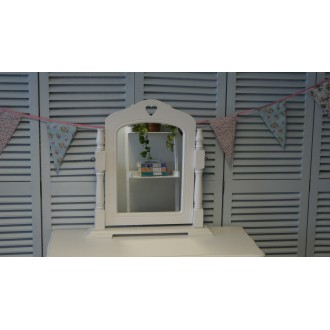 Mirror on Stand/Dressing Table Mirror, Shabby Chic Bedroom Furniture