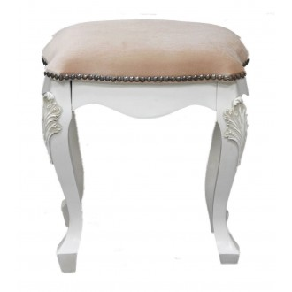 Padded Stool from the French Rose Range