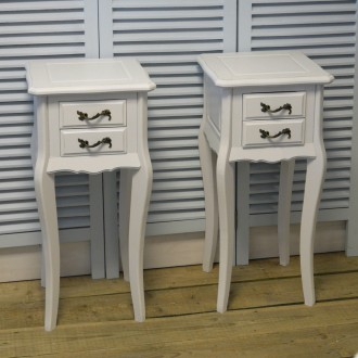 Two x 2 Drawer Bedside Table from the Carrington Range